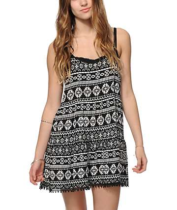 Empyre Aisha Black Tribal Dress