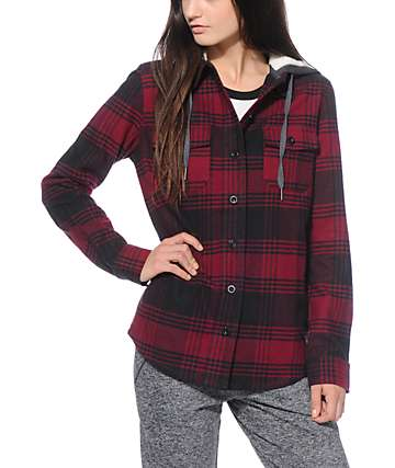 Empyre Alana Red Plaid Jacket