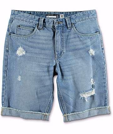 Empyre Albany shorts rotos de mezclilla