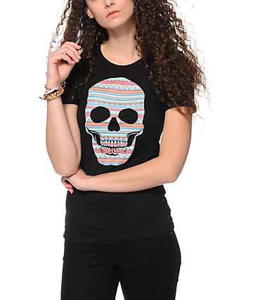 Empyre Aztec Skull T-Shirt