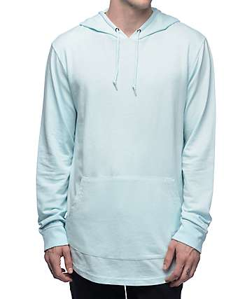 Empyre Barclay Light Blue Hooded Shirt