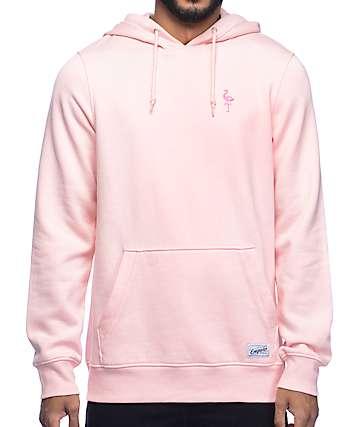 Empyre Baseline sudadera rosa con capucha