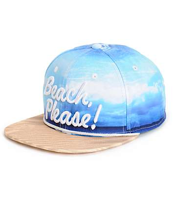Empyre Beach Please Snapback Hat