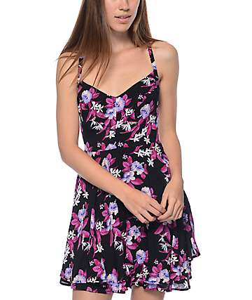 Empyre Bellamy Floral Cross Back Dress
