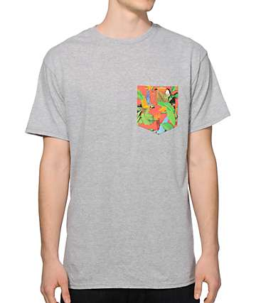 Empyre Birds Of Paradise Pocket T-Shirt