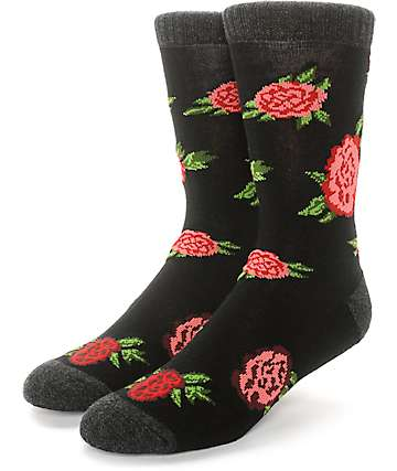Empyre Bloom Floral Crew Socks