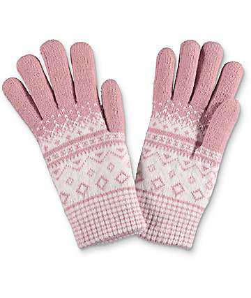 Empyre Blush Chenile Gloves