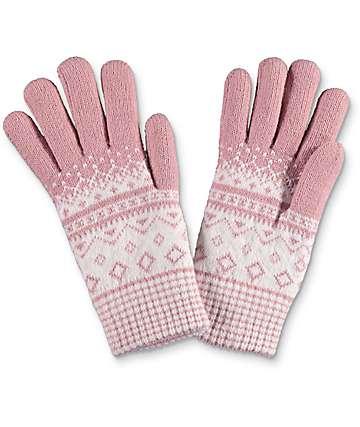 Empyre Blush guantes de felpa