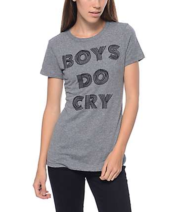 Empyre Boys Do Cry Grey T-Shirt