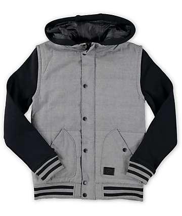 Empyre Boys Mixtape Chambray Vest Hoodie