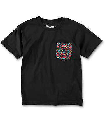 Empyre Boys Pac Black Pocket T-Shirt