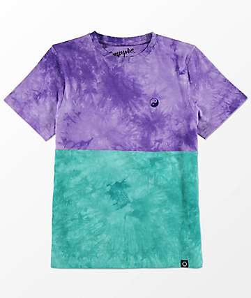 Empyre Boys Two Faced Tie Dye Knit T-Shirt