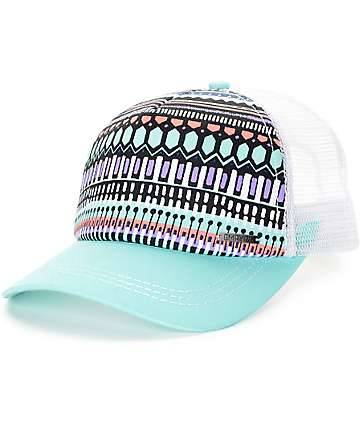 Empyre Breezy Ice Green Trucker Hat