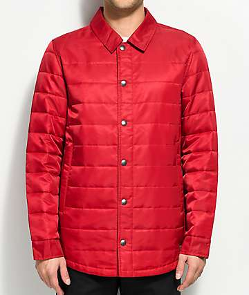 Empyre Burt Red Lightweight Jacket