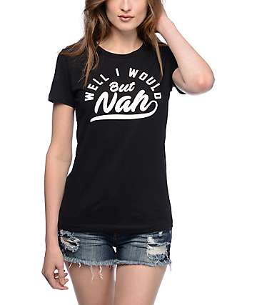 Empyre But Nah Boyfriend Black T-Shirt