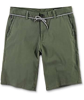 Empyre Cadet Olive Chino Shorts