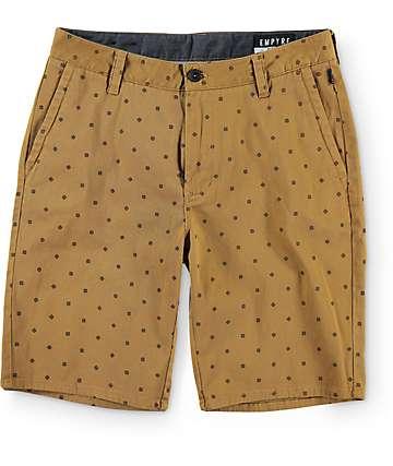 Empyre Cadet Tobacco Print Chino Shorts