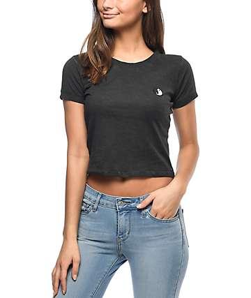 Empyre Cali Yin & Yang camiseta corta en negro