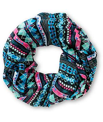 Empyre Cancun Tribal Print Infinity Scarf