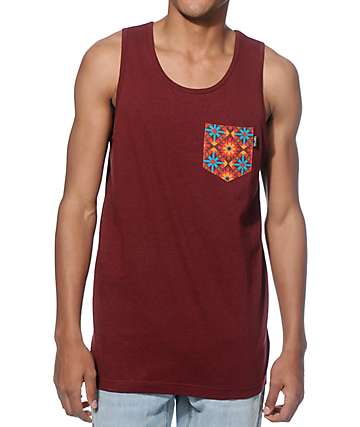 Empyre Cash Flow Geo Pocket Tank Top