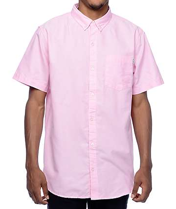 Empyre Casper Purple Oxford Button Up Shirt
