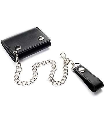 Empyre Chain Black Wallet