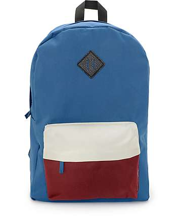 Empyre Chrissy Morocco Blue Colorblock Backpack
