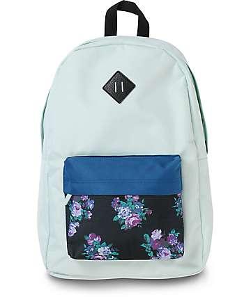Empyre Chrissy mochila azul ópalo floral