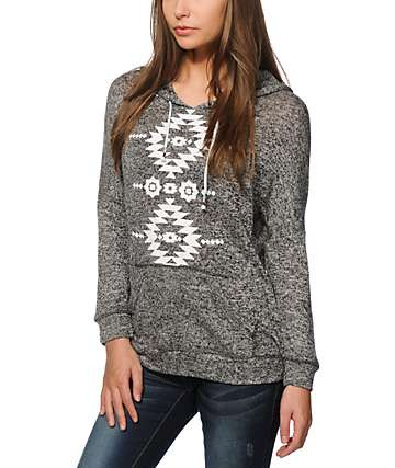 Empyre Cleo Tribal Knit Hoodie