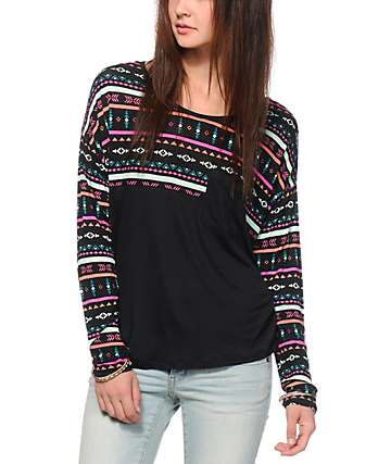 Empyre Corey Multi Tribal Top