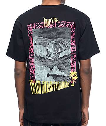 Empyre Crash Course Paradise Black T-Shirt