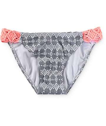 Empyre Diamond Ditzy Macrame Tab Side Bikini Bottom
