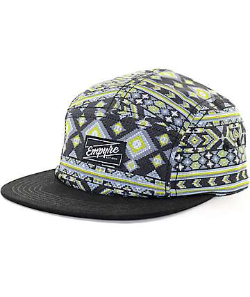Empyre Digital Black 5 Panel Hat