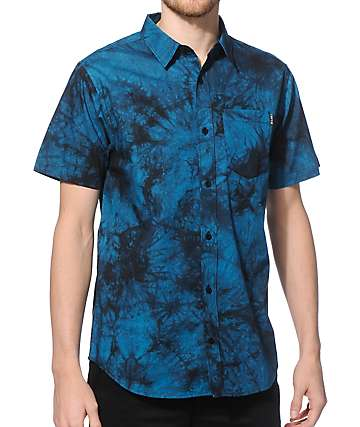 Empyre Diver Washed Button Up Shirt