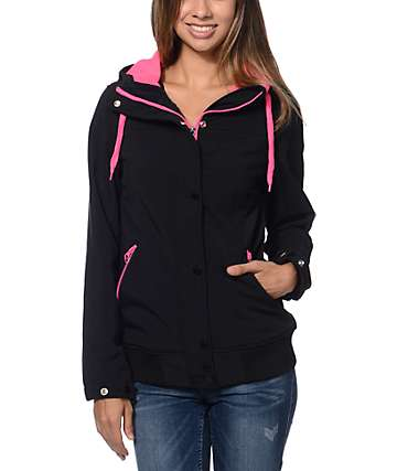 Empyre Dovey Black Softshell Jacket
