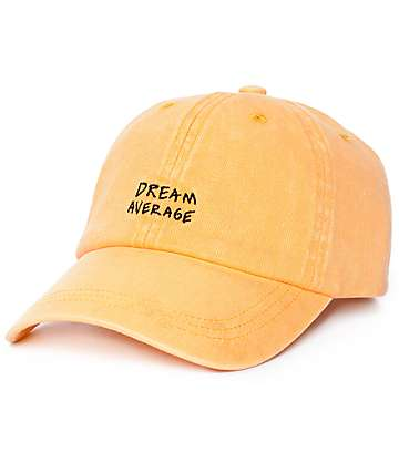 Empyre Dream Average Orange Baseball Hat