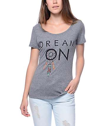 Empyre Dream On Grey T-Shirt