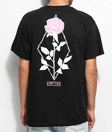 Empyre Eden Flora camiseta negra