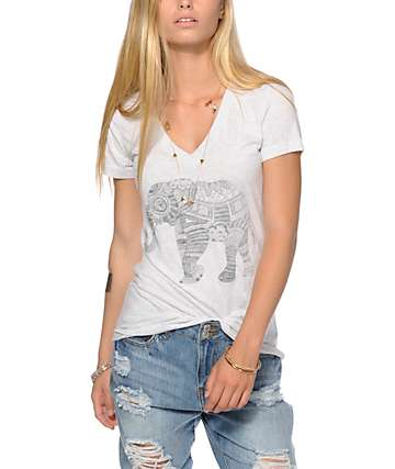 Empyre Elephant V-Neck T-Shirt