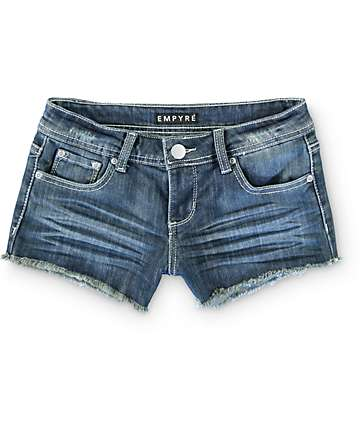 Empyre Erin Medium Wash Denim Shorts