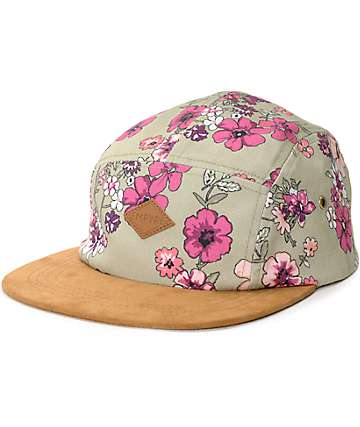 Empyre Evie Olive 5 Panel Hat
