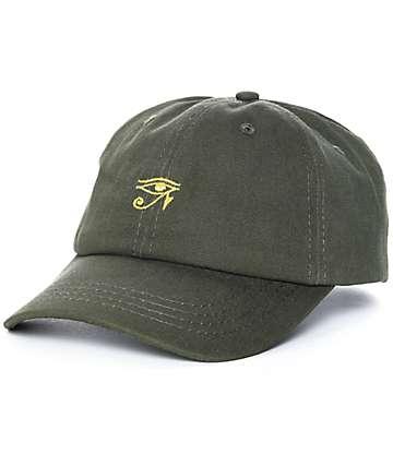 Empyre Eye Of gorra strapback en verde olivo