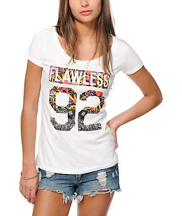 Empyre Flawless 92 Floral & Paisley Fill T-Shirt