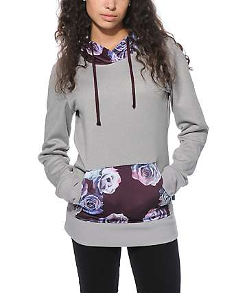 Empyre Frostier Rose Tech Fleece Hoodie
