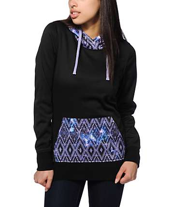Empyre Frostier Tribal Galaxy Tech Fleece Hoodie