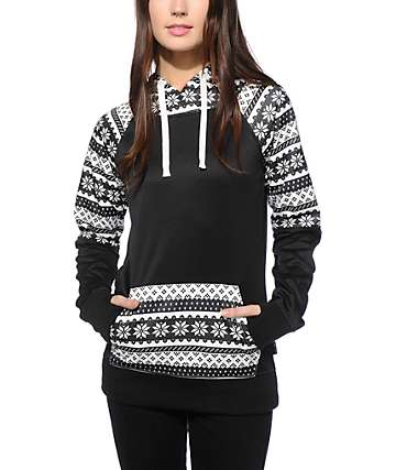 Empyre Frosty Flake Block Tech Fleece Hoodie