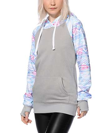 Empyre Frosty Multi Geo Tech Fleece Hoodie