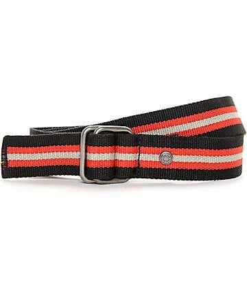 Empyre Fuse cinturón tejido en negro, rojo y gris