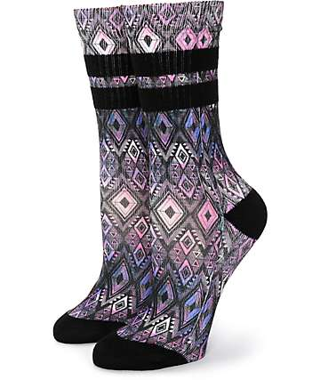 Empyre Gally 2 Pack Tribal Galaxy Crew Socks