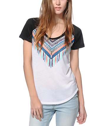 Empyre Garrett Tribal Collar T-Shirt